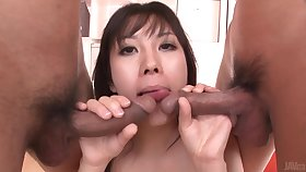 An Blow Occupation Added to Fucking Gets Hina Tokisaka High-quality Filled By One