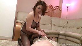 Elder defy gets his dick pleasured by sexy babe Shinobu Igarashi
