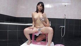 18yo ✨️ Chubby Girl Horny MILF Bath - 1080p JAV Lesbian Roleplay
