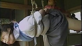 Sexy little Asian girl gets tied up added to teased wits their way partner