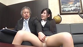Quickie fucking in the situation with shy Japanese secretary Seino Iroha