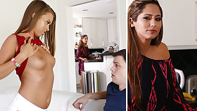 Stepmom help a youthfull one with very first fuckfest