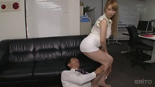 Tia working over time cause that's the time she gets fucked hard